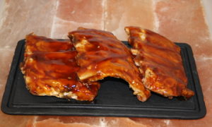 Bbq spare ribs