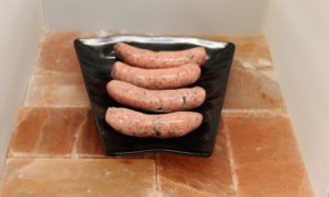 Pork & black pudding sausages